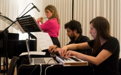 Tropos, for flute and live electronics
