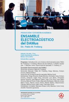 Flyer Concierto Ens. Electro 8-7