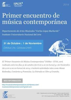Primer Encuentro de Música Contemporánea